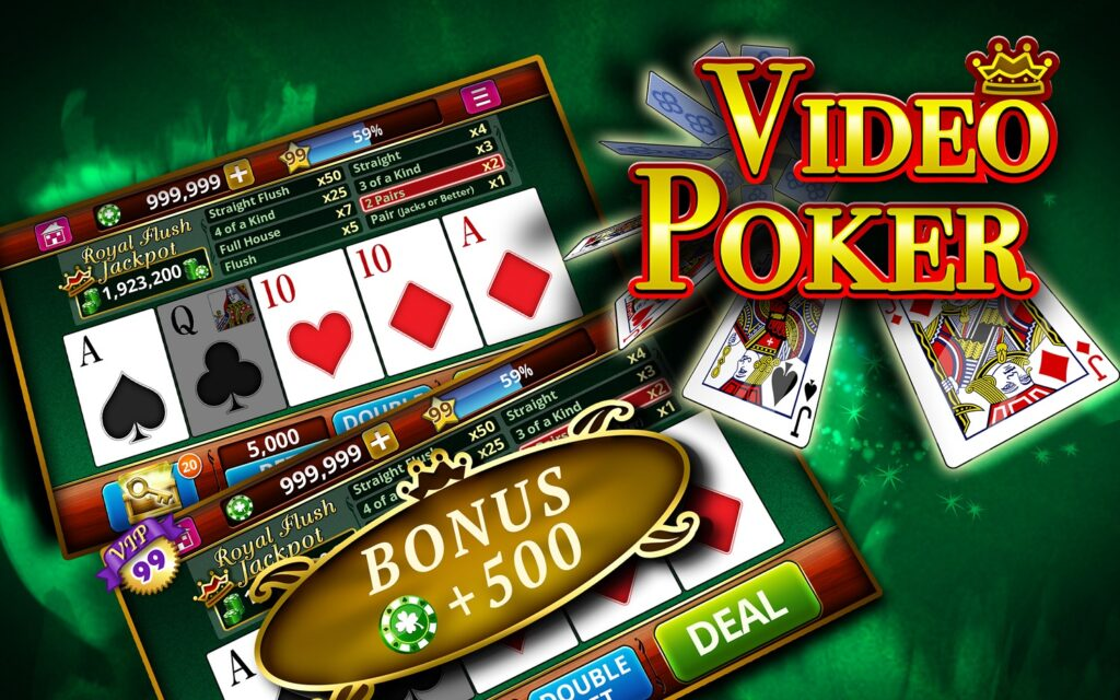 Free video poker machine games